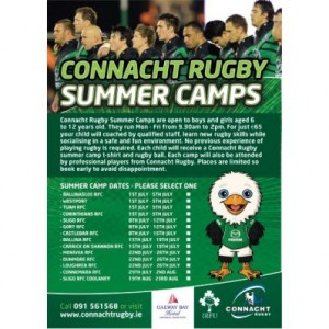 IRFU Summer Camp @ Leitrim Village